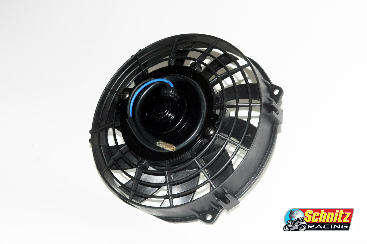 Schnitz Racing Low Profile Sportbike Radiator Fan