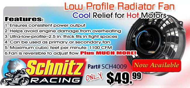 Schnitz Low Profile Radiator Fan