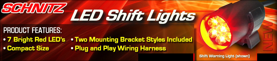Schnitz LED Shift Lights