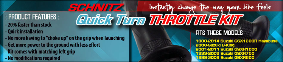 Schnitz Quick Turn Throttle Kit