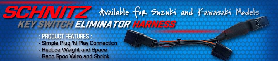 Schnitz Key Switch Eliminator Harness